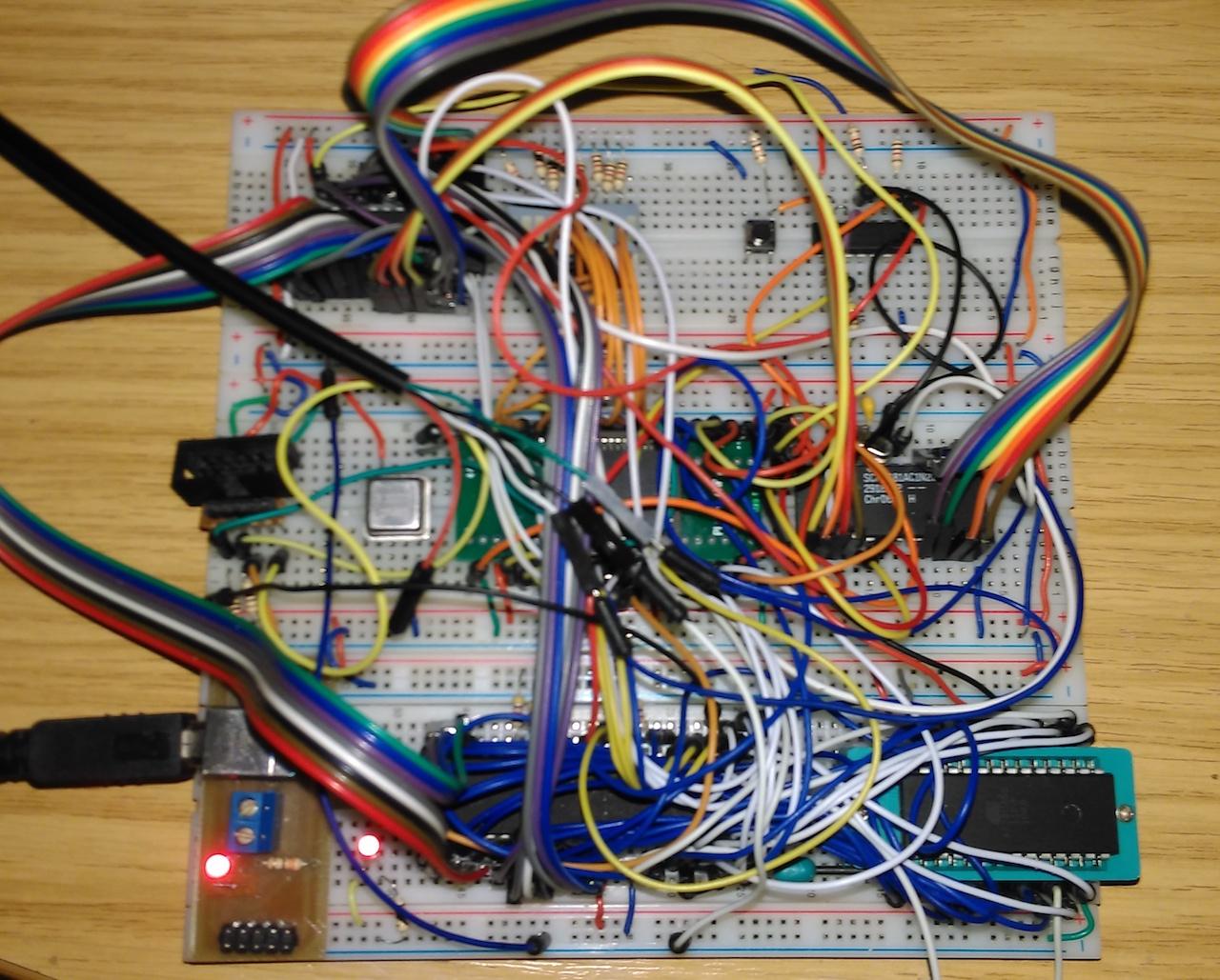 Being Sensible A 68008 Computer On Breadboard Aslak S Blog
